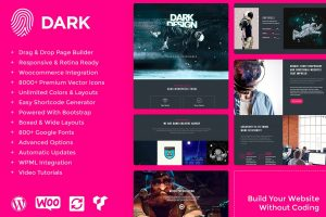 wordpress dark theme