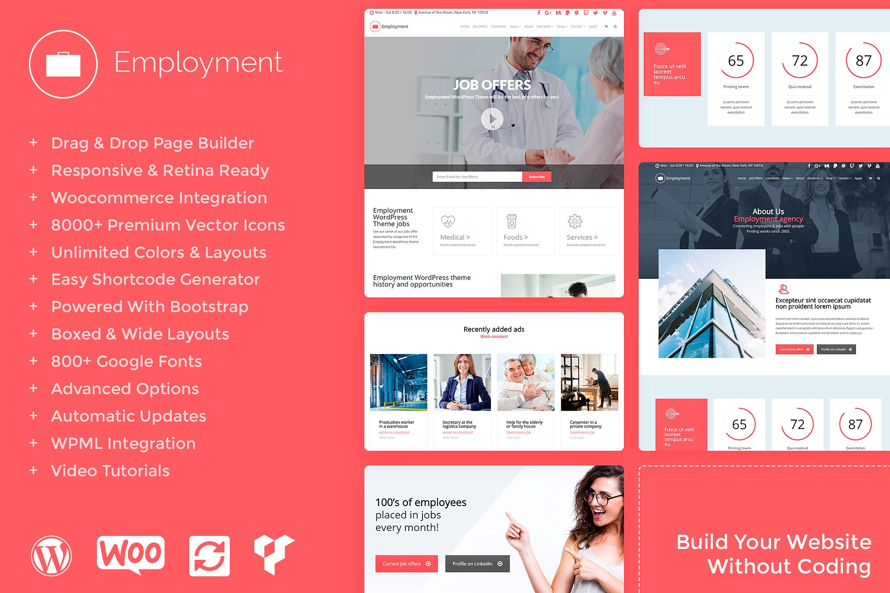 Job Board WordPress Theme Job Portal Templates