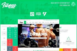 wordpress fitness theme