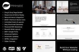 minimalist wordpress themes