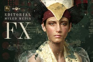 Editorial Mixed Media - Extension Plugin for Adobe Photoshop