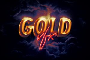 Hd Photoshop Gold Text Logo Effects