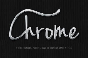 Chrome Layer Styles
