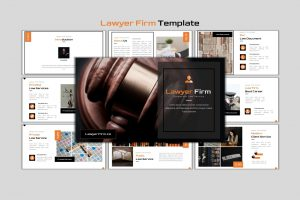 Lawyer Firm – Creative Business Powerpoint Template