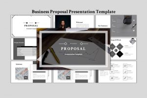 Creative Business Proposal PowerPoint Template