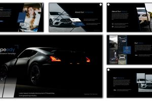 Speedy Car Service PowerPoint Template